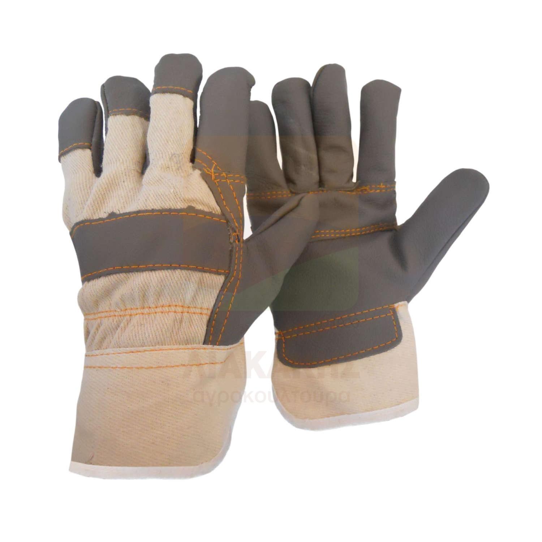Γάντια δερματοπάνινα A(S)