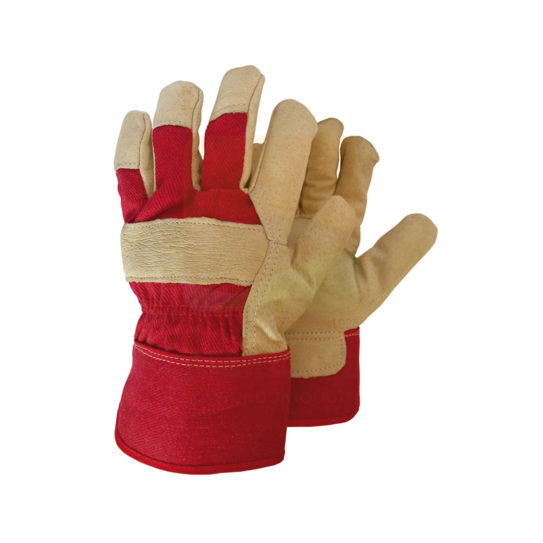 Γάντια δερματοπάνινα PASA