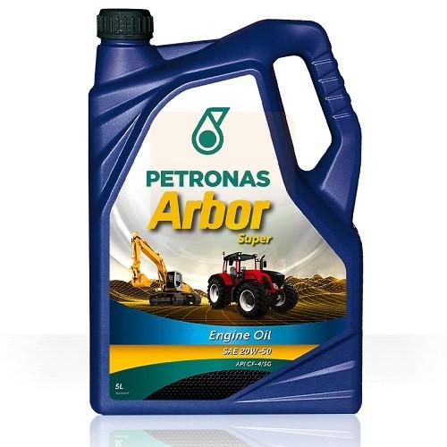 Υπερενισχυμένο Πολυβάθμιο Λιπαντικό Κινητήρων Diesel PETRONAS ARBOR SUPER 20W‑50 (5L)