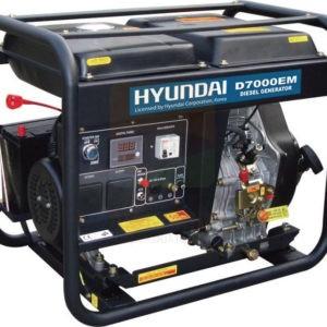 Hyundai D7000EM