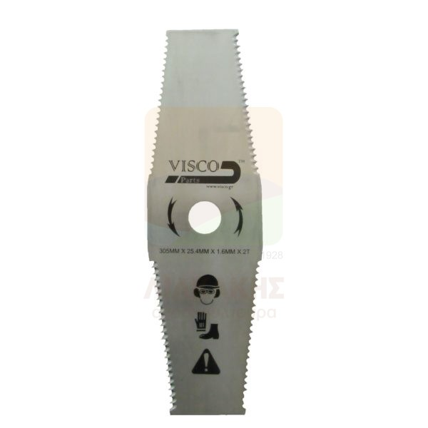 ΔΙΘ-007 Δίσκος ΘΑΜΝ-ΚΩΝ 305Χ25.4Χ1.6-2Δ. Πριονωτός