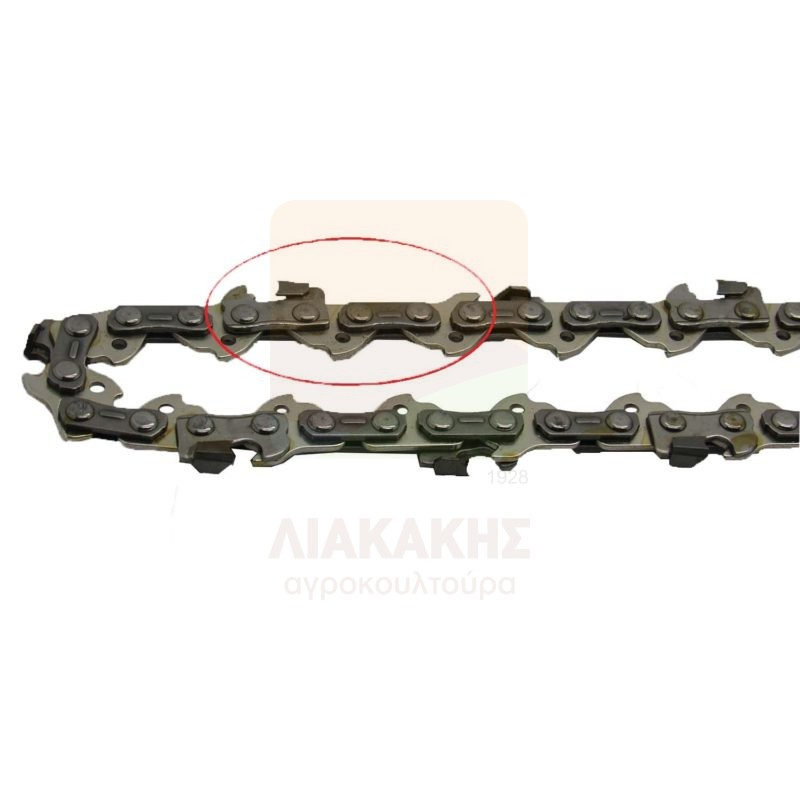 150K-45Δ Αλυσίδα Διαμαντέ VISCO 3-8″LP-050-1.3-45 Οδηγοί