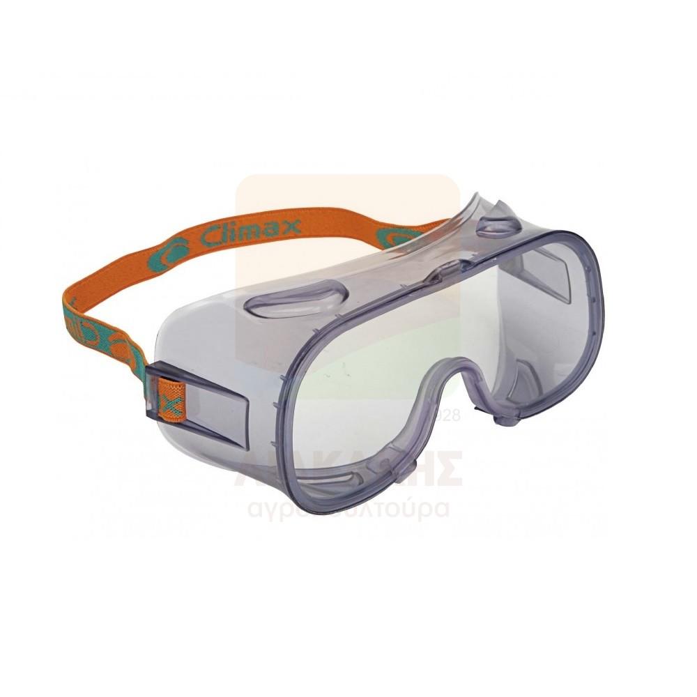 Γυαλιά Άθραυστα πανοραμικά αντιθαμβωτικά CLIMAX Δ1