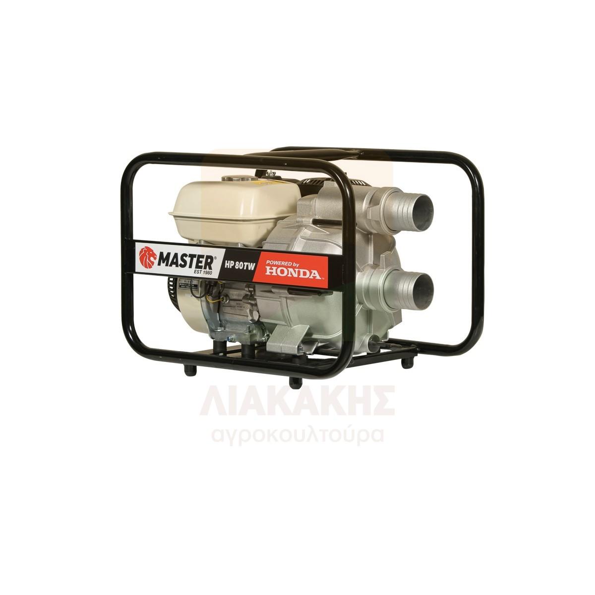 Αντλία ημι-ακαθάρτων βενζινοκίνητη MASTER HP 80TW