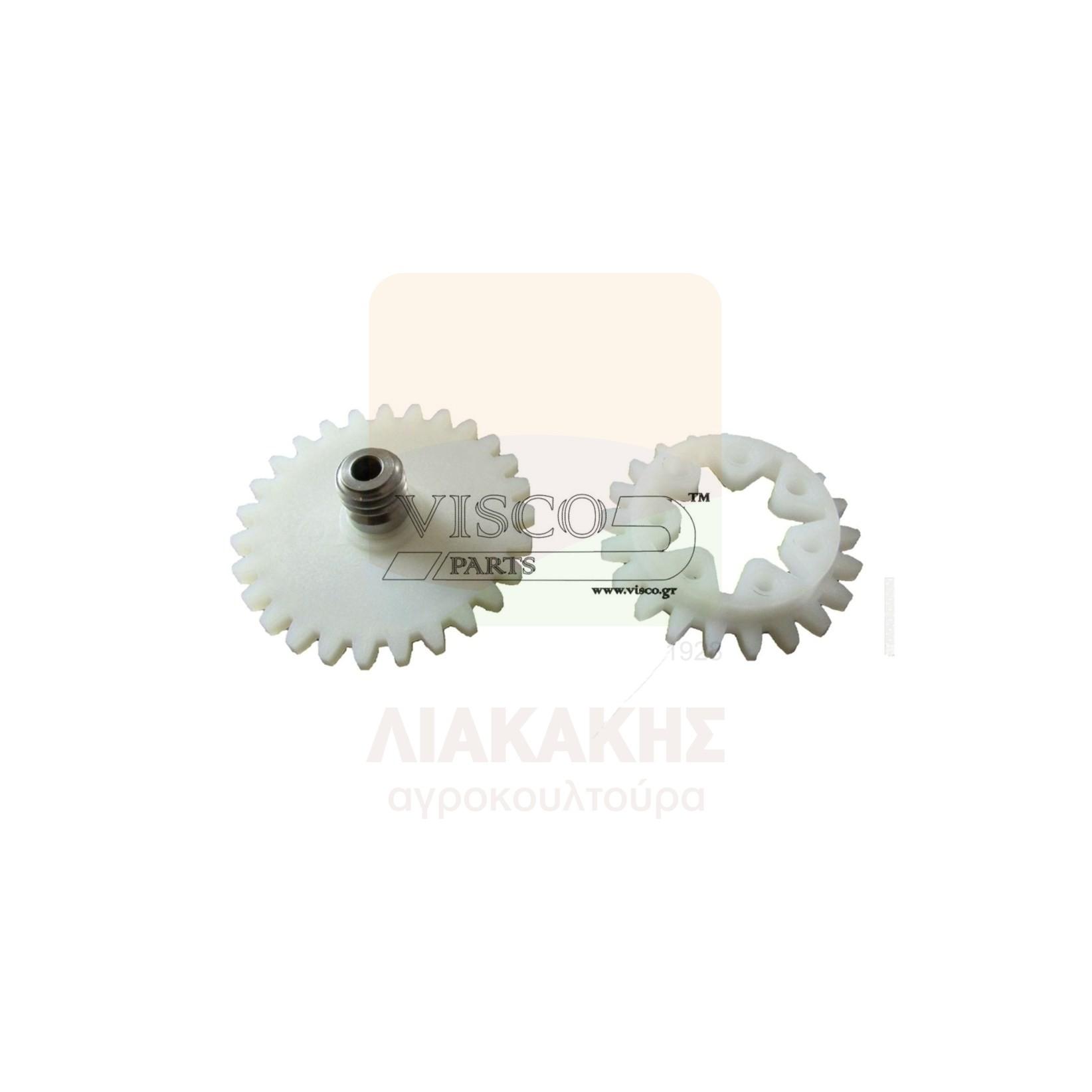 ΓΛΠ-021 Γρανάζι Λαδιού Πλαστικό STIHL 028 – Σετ