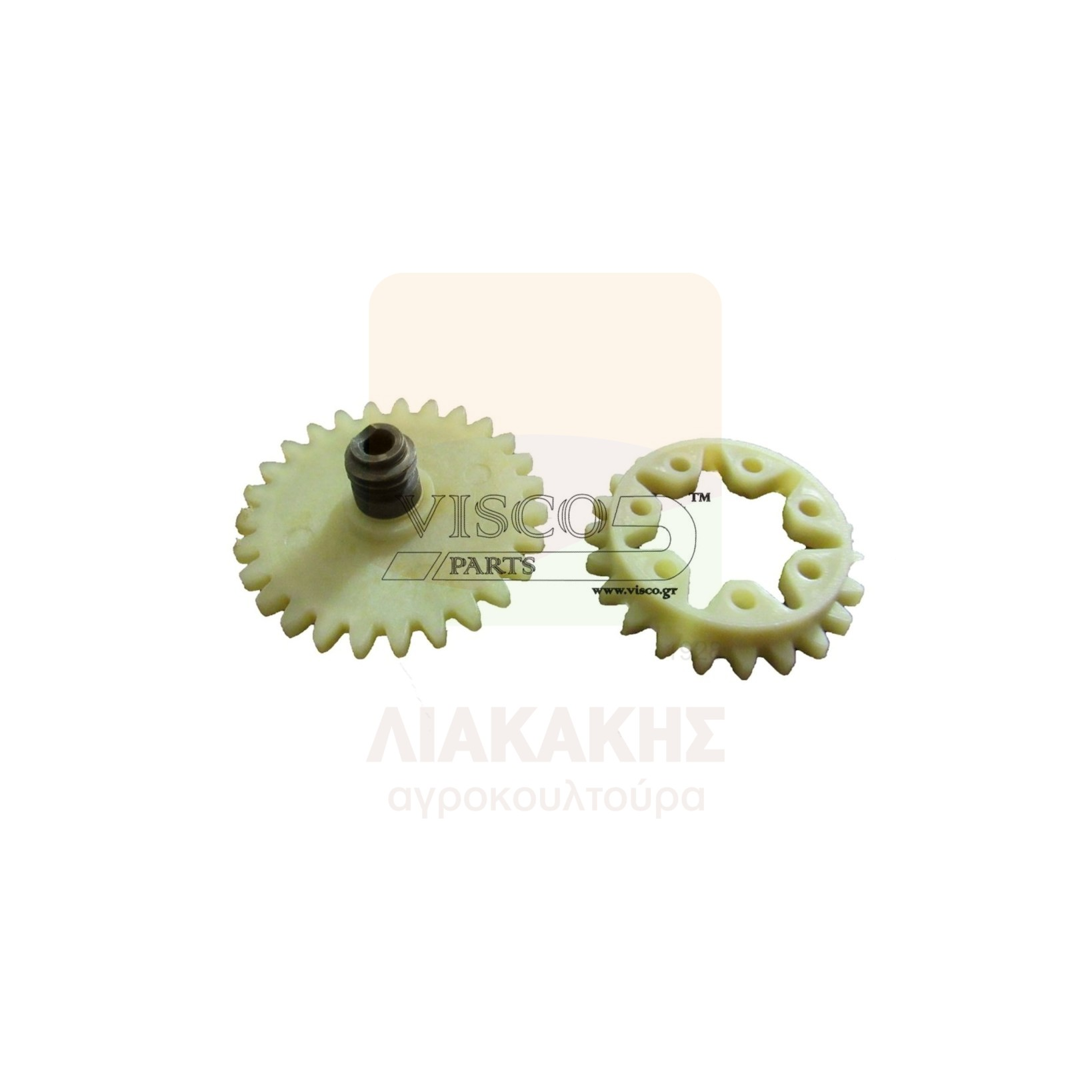ΓΛΠ-022 Γρανάζι Λαδιού Πλαστικό STIHL 038- MS 380 Σετ