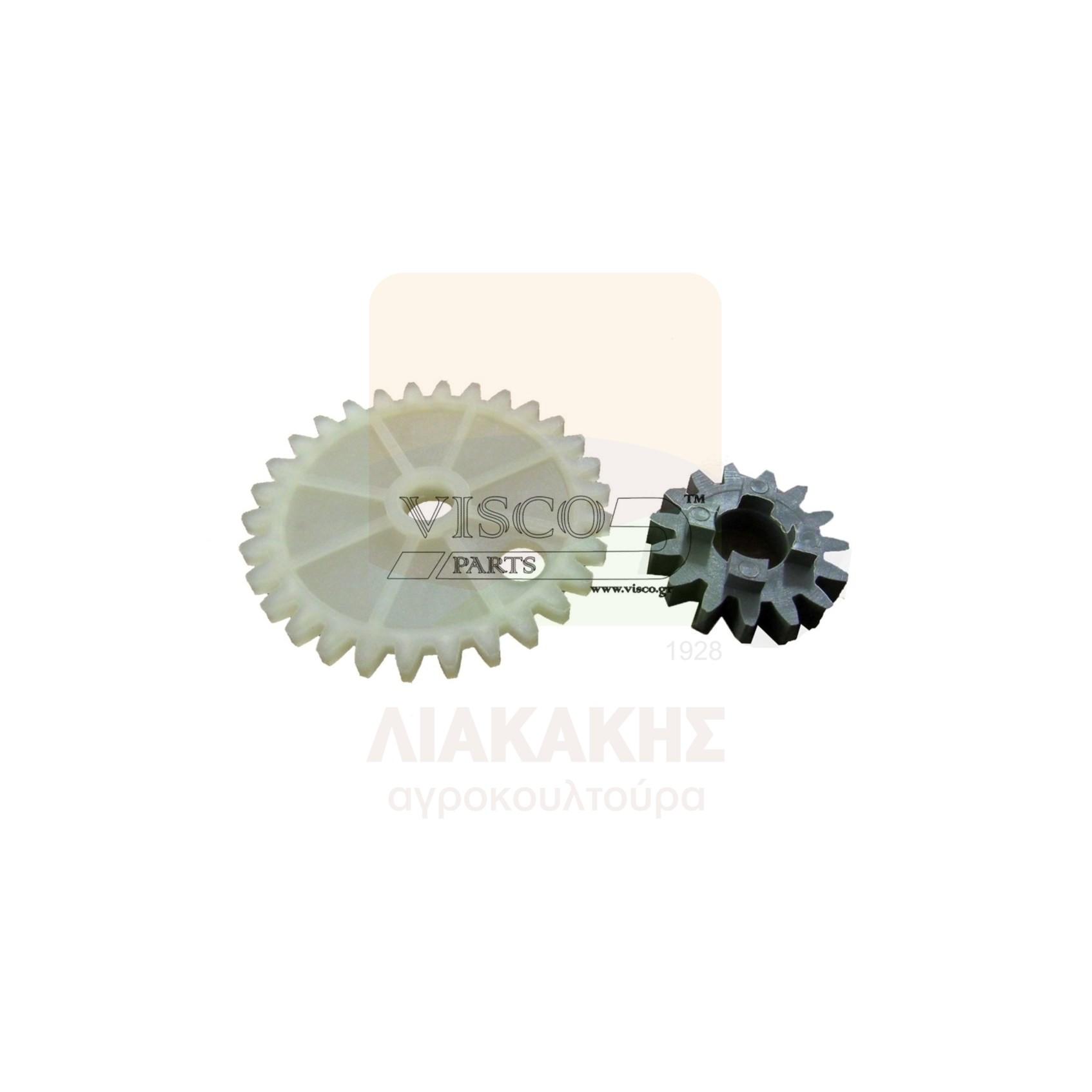 ΓΛΠ-027 Γρανάζι Λαδιού Πλαστικό HUSQVARNA L65-77 Σετ