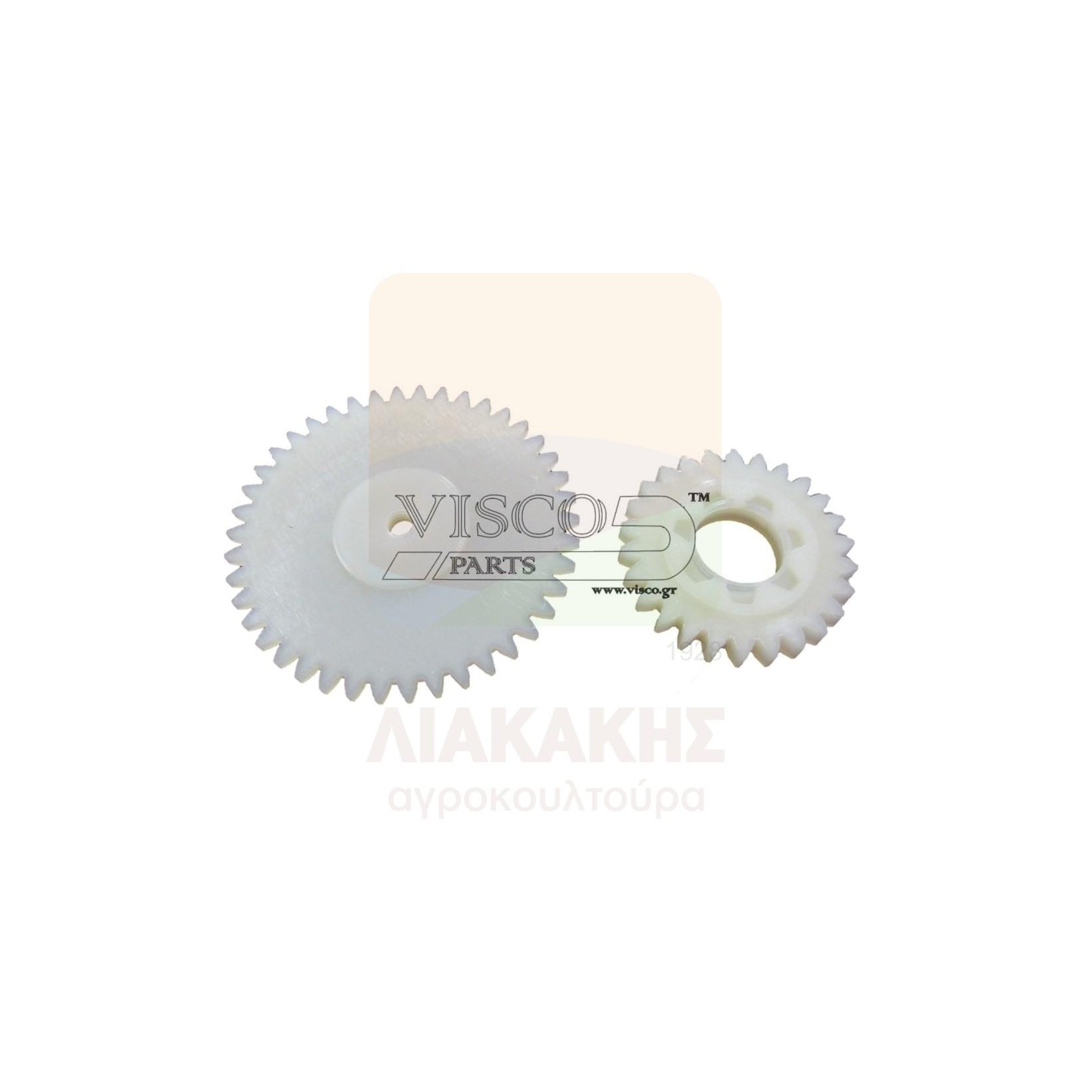 ΓΛΠ-028 Γρανάζι Λαδιού Πλαστικό PARTNER 650 Σετ