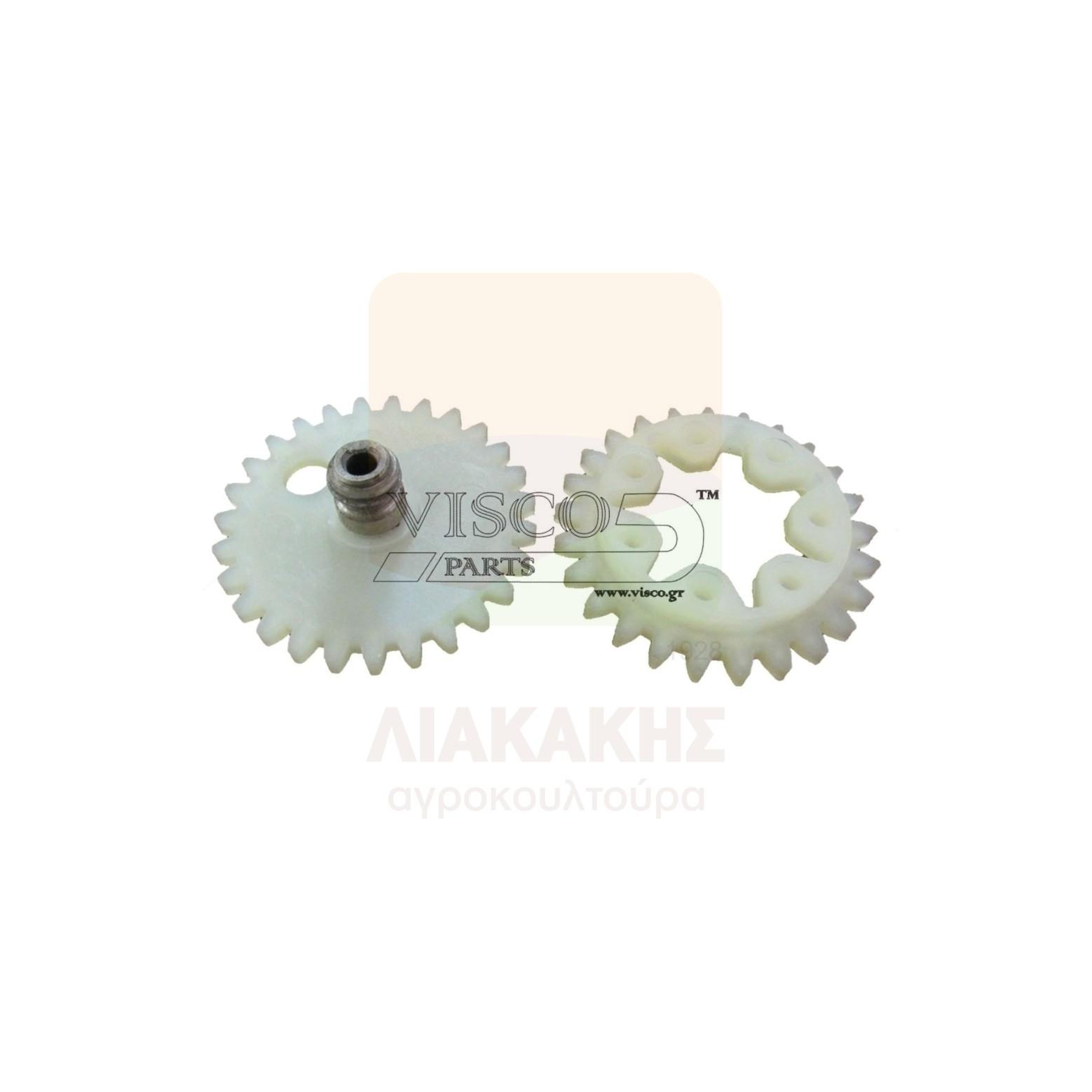 ΓΛΠ-029 Γρανάζι Λαδιού Πλαστικό STIHL 042-048 Σετ