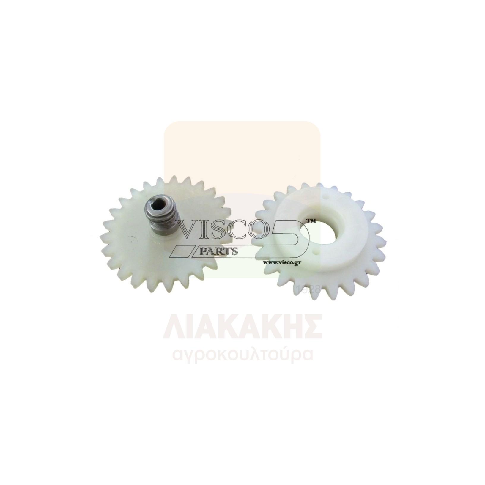 ΓΛΠ-030 Γρανάζι Λαδιού Πλαστικό Σετ STIHL 045-056
