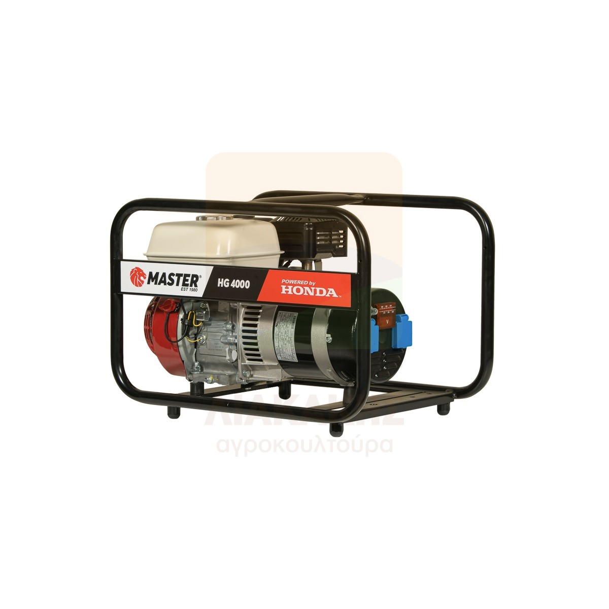 Γεννήτρια βενζίνης μονοφασική 2.4 kVA MASTER