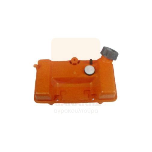 Δοχείο καυσίμου για θαμνοκοπτικά Oleo-Mac-Efco 727-733-740 (παλαιού τύπου)