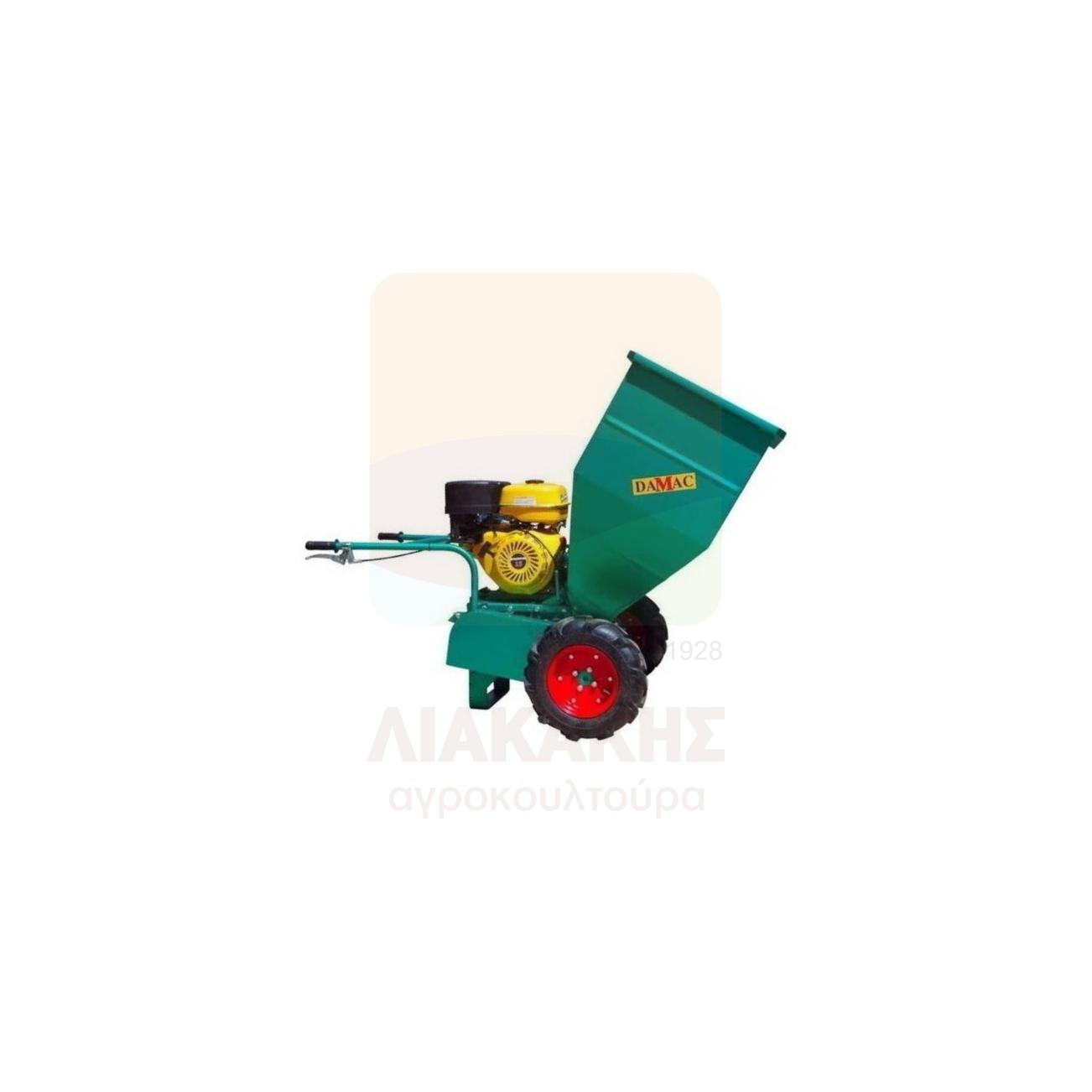 Βενζινοκίνητος Θρυμματιστής Κλαδιών Αυτοκινούμενος 25.180 15 HP DAMAC (78431)