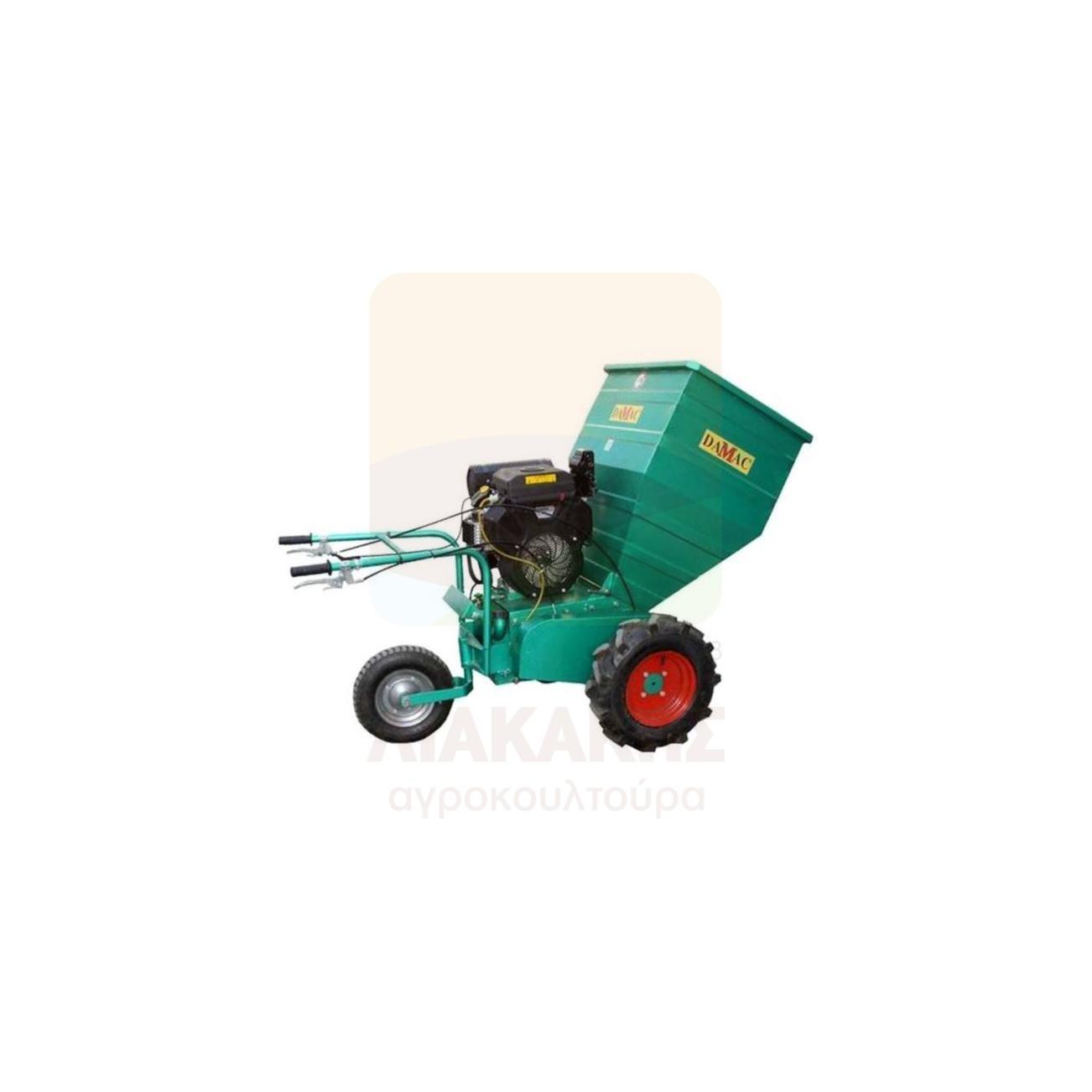 Βενζινοκίνητος Θρυμματιστής Κλαδιών - Αυτοκινούμενος 30.180 - 20Hp DAMAC (78434)