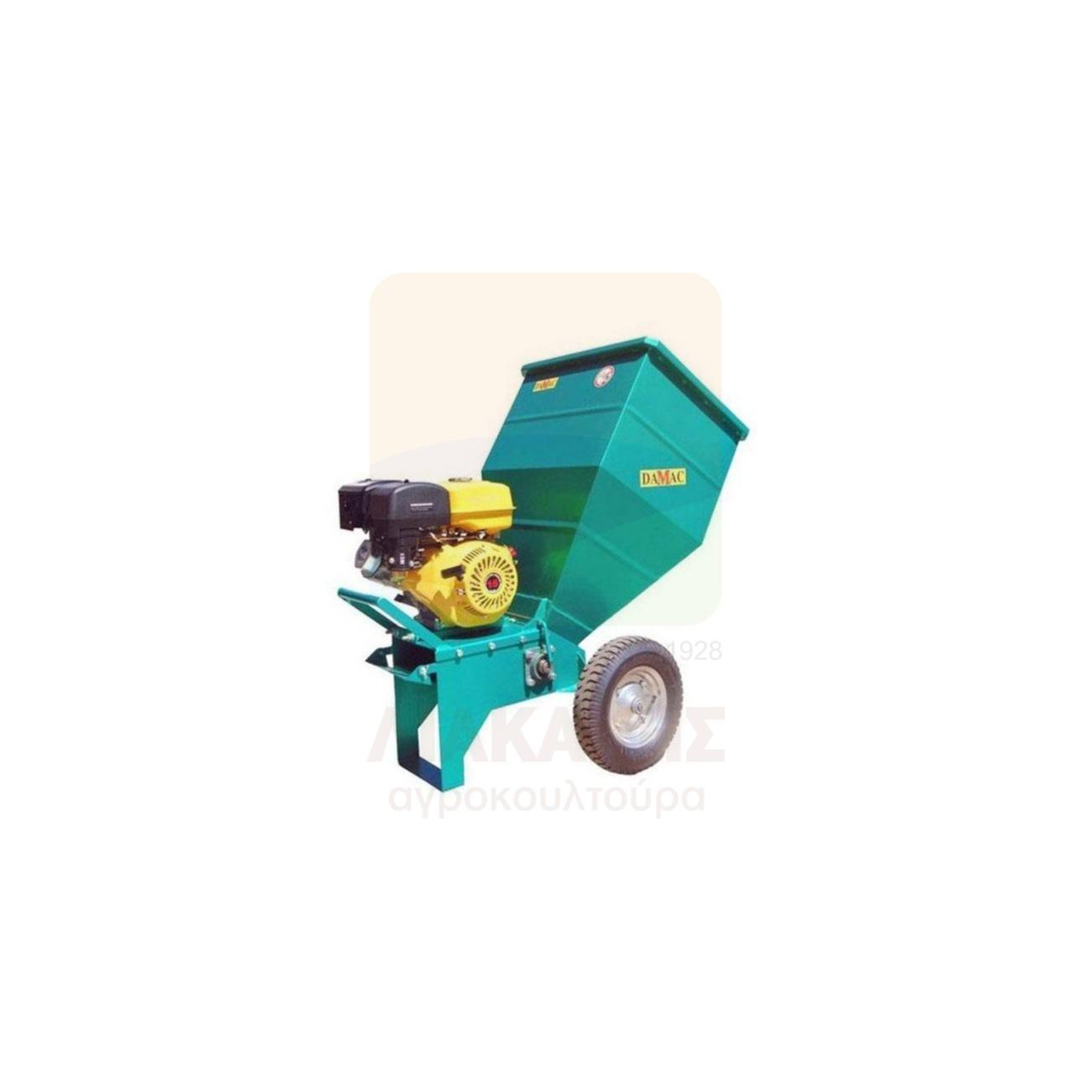 Βενζινοκίνητος Θρυμματιστής Κλαδιών 25.180 15Hp DAMAC (78415)