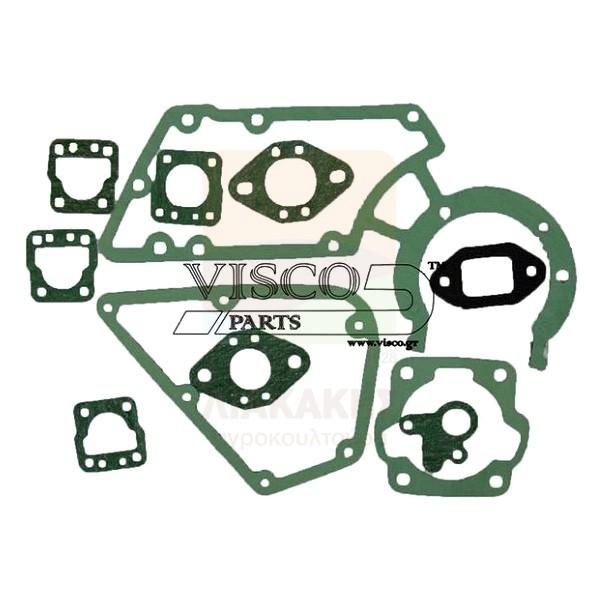 Σετ φλάντζες για αλυσοπρίονα STIHL 08-08S & αρμοκόφτες TS350-360 Visco