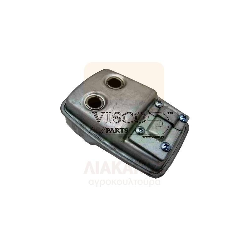 Εξάτμιση για HUSQVARNA 124C/L - 125C/LDX/R - 128C/L/LDX/R/RJ/ JONSERED BC 2125R-2128R | Visco