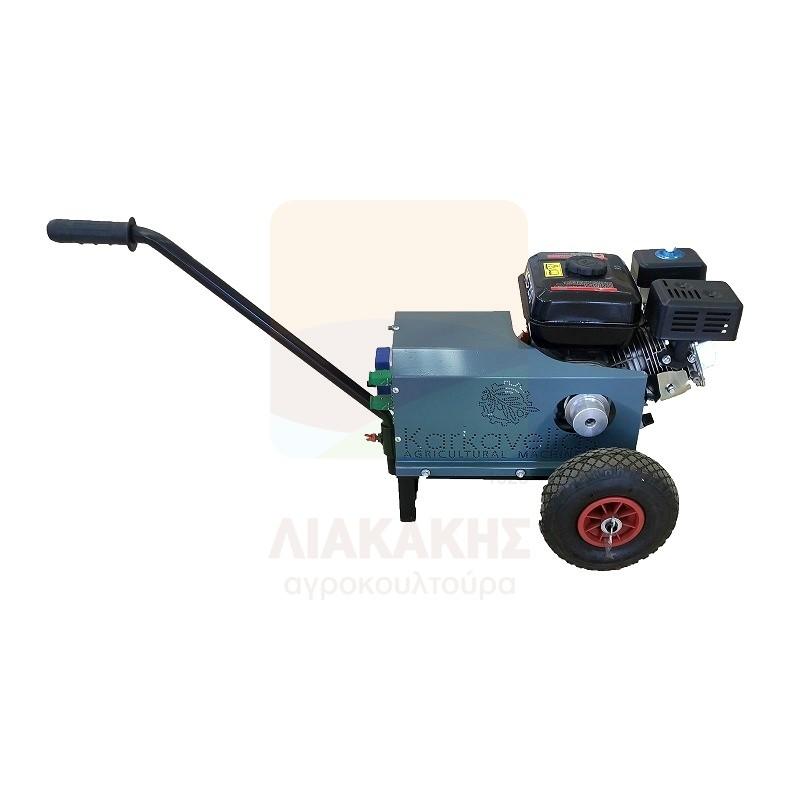 Καροτσάκι Γεννήτριας Καρκαβέλιας για ηλεκτρικά ελαιοραβδιστικά (άνευ κινητήρα)